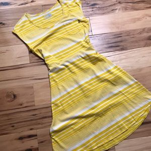 The NORTH FACE Sz S striped dress